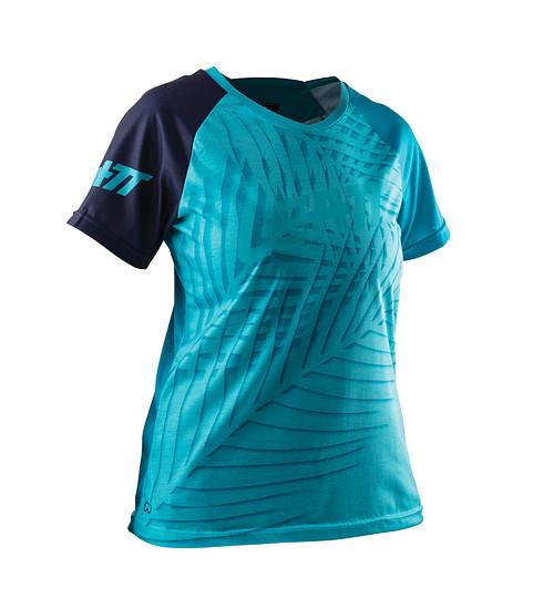 Das Leatt Jersey DBX 2.0 Women's Short ist für den sommerlichen Trail- und Enduroeinsatz gedacht.