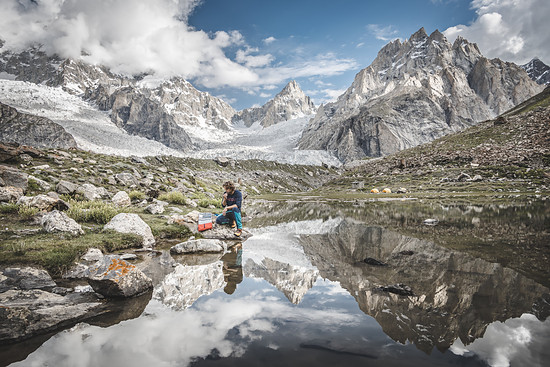 Im Karakorum war selbst der weit gereiste Martin sprachlos von der Schönheit der Berglandschaft