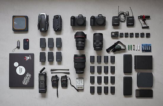 Die Ausrüstung