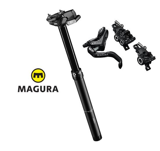Magura spendiert ein Trail Bundle aus der elektrischen Veyron-Stütze und MT-Bremsen