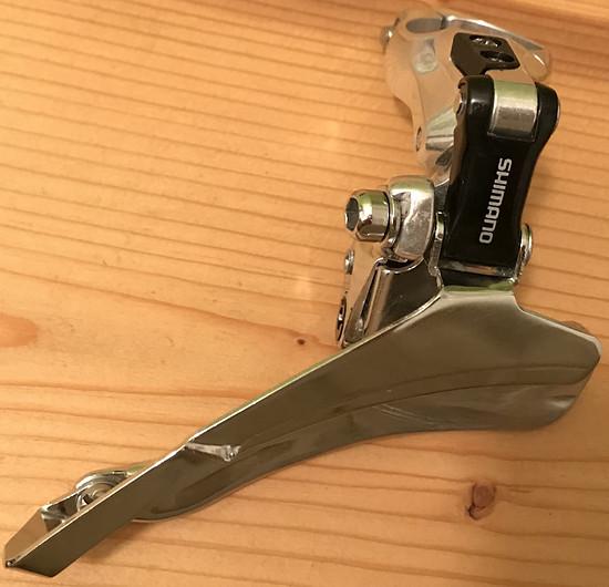 Umwerfer: Shimano FD-M651