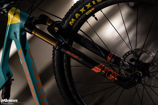 Leicht und leistungsfähig: die Fox 32 SC ist für viele XC-Bikes erste Wahl