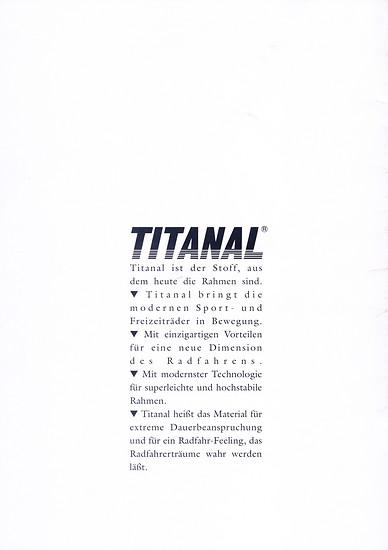 Titanal Katalog (2von12 +1)
