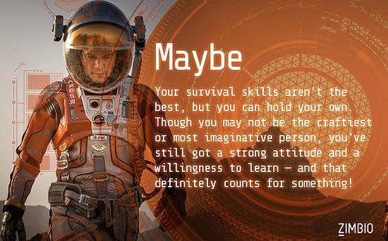regarding survival skills