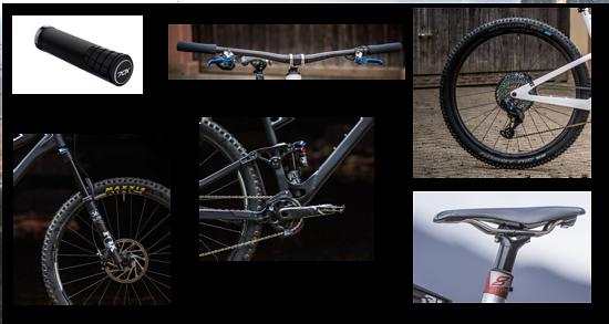 Diese Teile machen aus irgendeinem Mountainbike deines