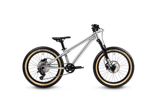 """Das Bike ist auch in 20"""" zu haben und kommt in allen Varianten mit hydraulischen Scheibenbremsen ..."""