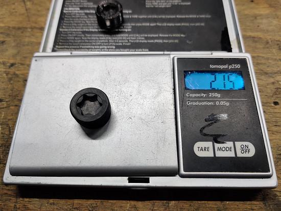 XX1 Hopp Carbon Parts Clutch Deckel/Schraube