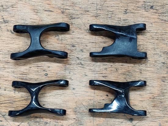 Hopp Carbon Parts Gelenke Matt vs. Glänzend (bearbeitet)