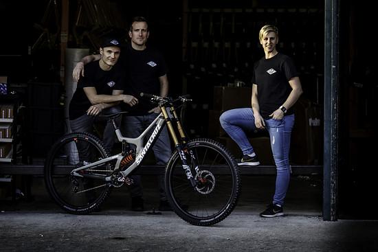 2020 bekommt Nina Hoffmann Unterstützung von Erik Fickelscheer als Mechaniker und Sven Heitmann als Team-Manager.