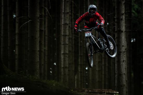 Erik Fickelscheer kann selbst nicht ganz schlecht Radfahren