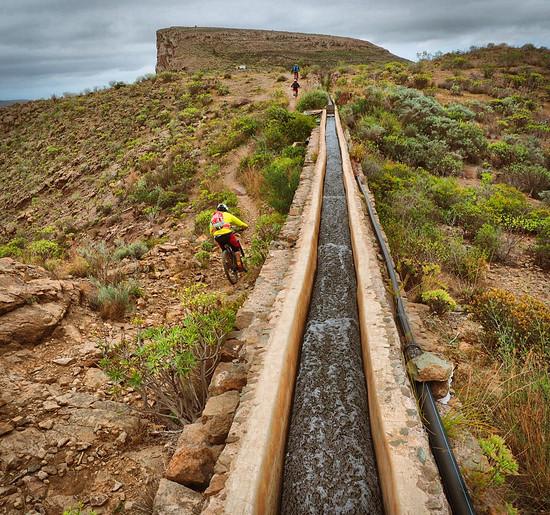 Flowing like water in Gran Canaria