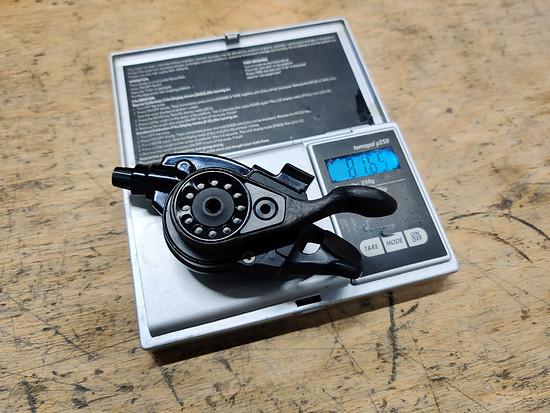 SRAM XX1 Schalthebel 11fach Custom 81,65g