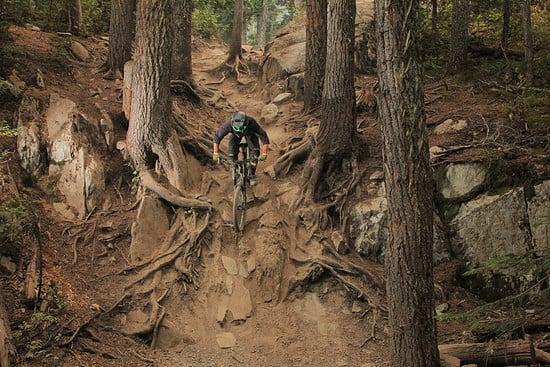 """""""In Deep"""" im Whistler Bike Park"""