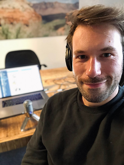 Podcast-Selfie