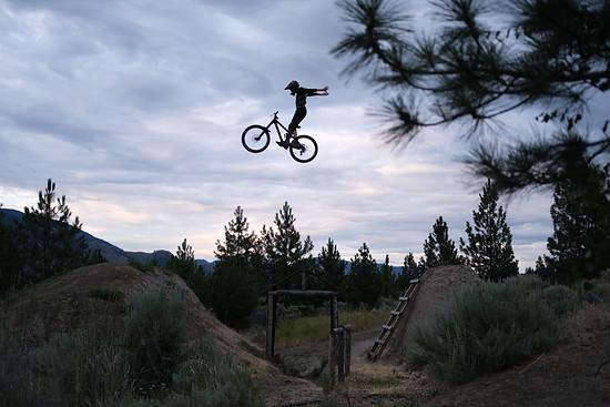 Julian Clauss at Kamloops Bike Ranch Summer 19