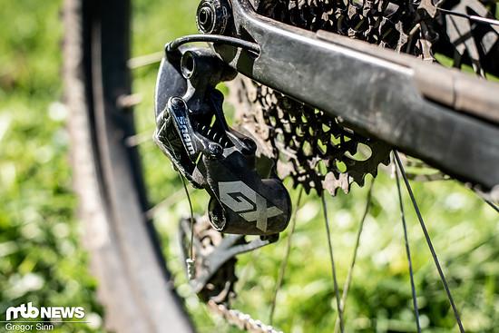 Das Schaltwerk ist besonders am Mountainbike sehr exponiert