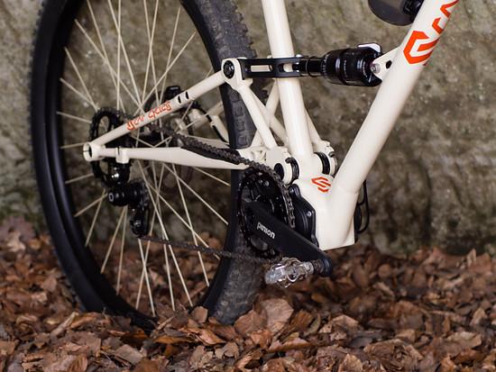 Scar Cycles SP135 - Pinionfully Eigenbau aus Stahl