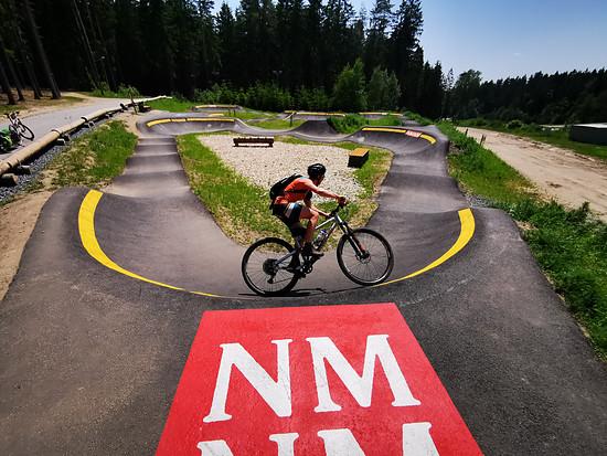 Cyklo aréna Vysočina in Nové Město na Moravě