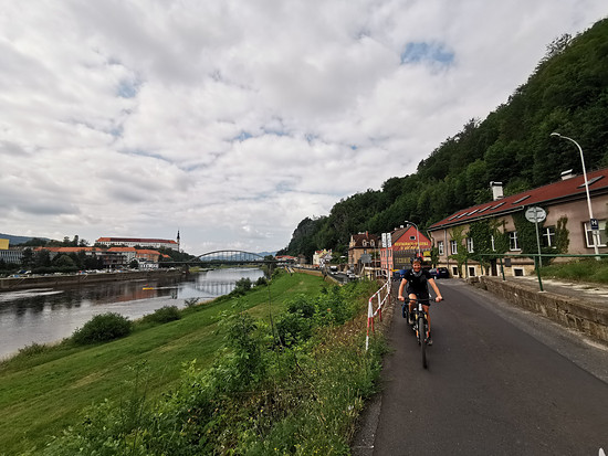 Wieder an der Elbe