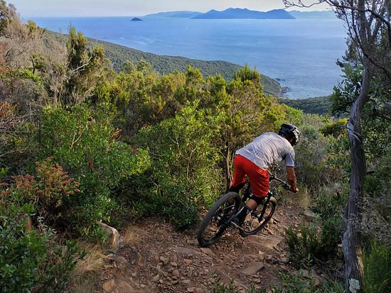 Die Insel Elba selbst scheint von Piombino aus so nah, dass man direkt hinüber schwimmen möchte