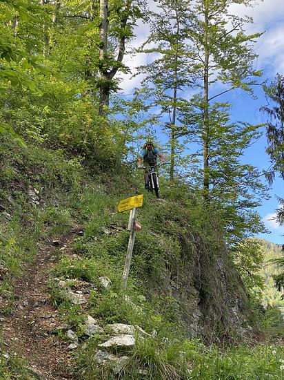 auch nach 35 Jahren kann man noch neue Trails entdecken