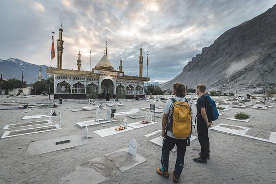 Die Tour können wir laut Ishaq schaffen, wenn Allah uns gnädig sei.