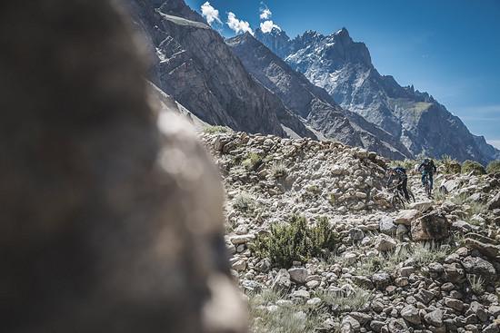 Die Wege sind – noch – fast wie fürs Mountainbiken gemacht.