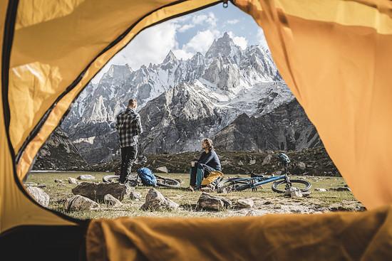 Ich würde dieses Zelt dort wirklich nicht gegen ein 5-Sterne Hotel tauschen.
