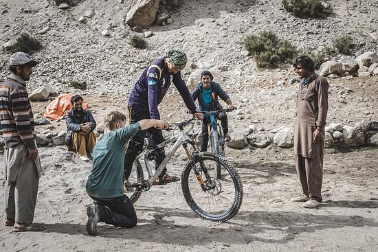 Fahrtechnik-Freitag in Pakistan