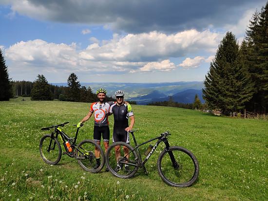 Freiburg Trail Fun mit meinem Freund Christoph Hopp