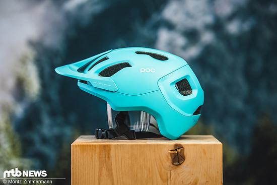 Der neue POC Axion Spin ist ein schicker Halbschalen-Helm für den Trail- und Enduro-Einsatz
