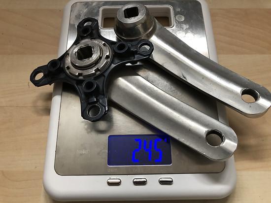 Shimano fc-m570 - gekürzt 125mm