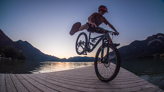Stoppie am Wolfgangsee