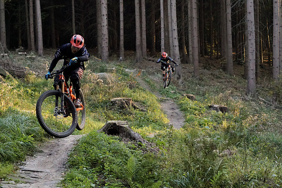 Down and out - unsere letzten Meter auf den Rychleby Trails