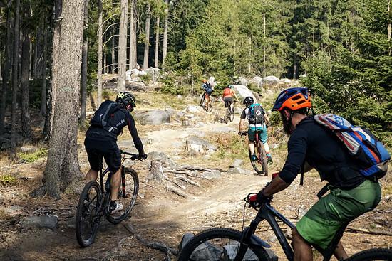 Auch in Trutnov haben sich die Trailbauer viel Mühe für angenehme Uphills gegeben