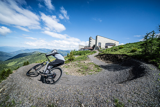 ... und der Bikepark Bad Kleinkirchheim