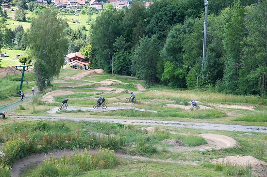 Testride im Bikepark Großerlach