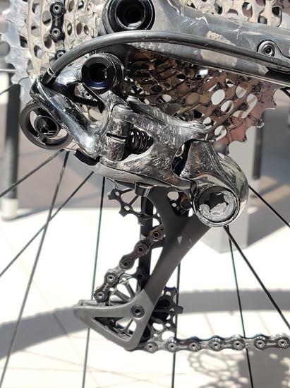 "Hopp Carbon Parts P-knuckle SL 2.0 ""Prototyp"" XX1 11fach HOPP CARBON PARTS Schaltwerk 138,4g"