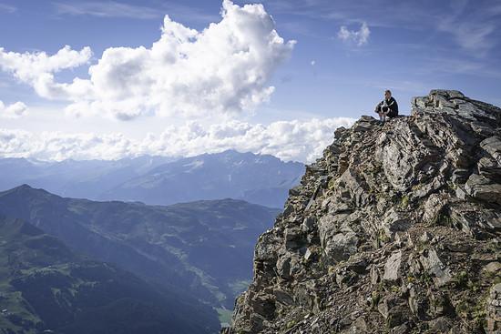 Aussicht vom Parpaner Rothorn