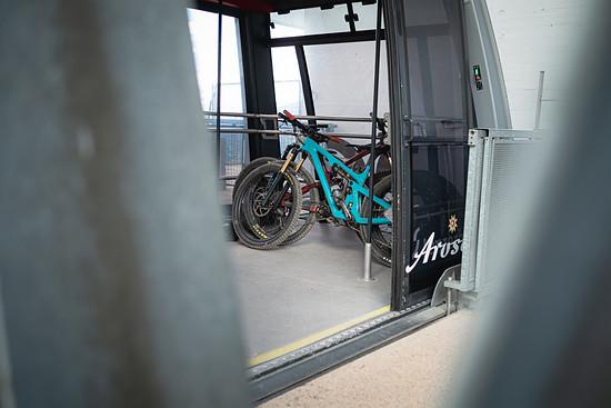 Im Bike Kingdom ist tatsächlich fast alles auf Mountainbiker ausgelegt