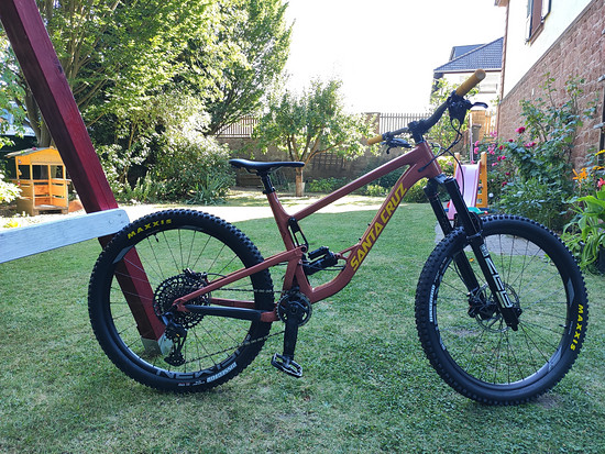 Santa Cruz Bronson AL Custom