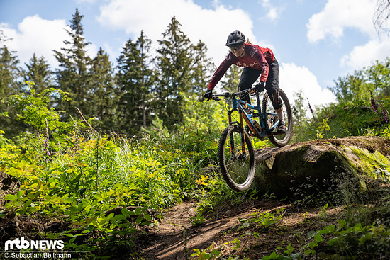 Katharina lässt es im Harz fliegen