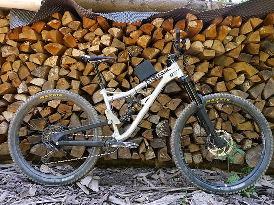 Das Messbike: Eine Alutech Tofane