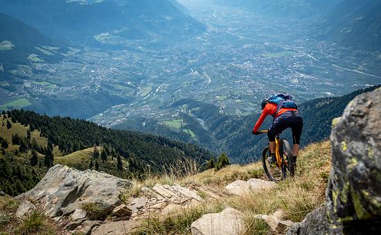 Trail mit Ausblick