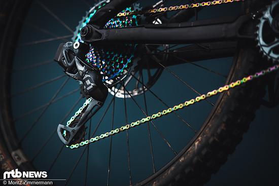 Mit der X01 Eagle AXS zeigt SRAM die erste kabellose Schaltung für Mountainbikes