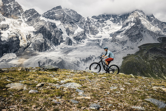 Uphill mit Ausblick