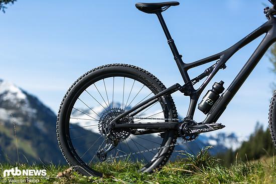 Kurze Sitzrohre sollen es dem Kunden ermöglichen sein Bike nach den gewünschten Fahreigenschaften und nicht nach der Schrittlänge auszuwählen.