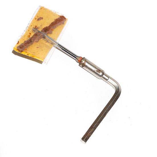 MAXALAMI Werkzeug ohne Griff mit selbstgebauten 4mm Microbit - Aufgesteckt auf dem Multitool L-Schlüssel