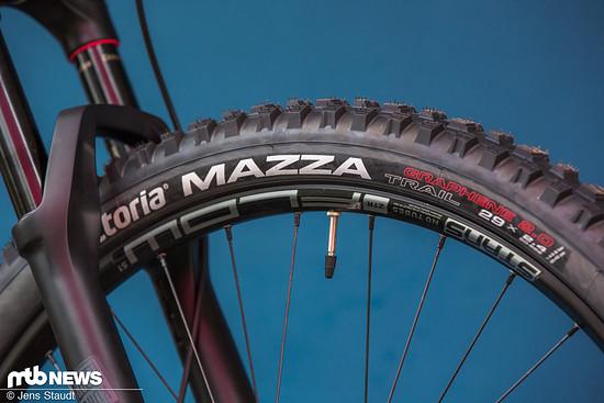 Neue Reifen: Vittoria Mazza und Martello