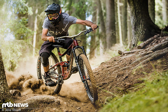 … egal ob über dem Trail oder auf dem Boden!